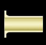 Патрубок с неподвижным стеклопластиковым фланцем