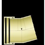 Двухсегментный отвод 1°- 30°
